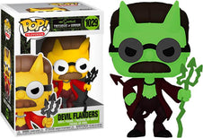 Simpsons | Flanders Devil [Glow in the Dark] POP! VINYL [RS]