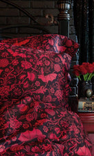 Elysian Fields [Red] | DOUBLE/QUEEN DUVET COVER