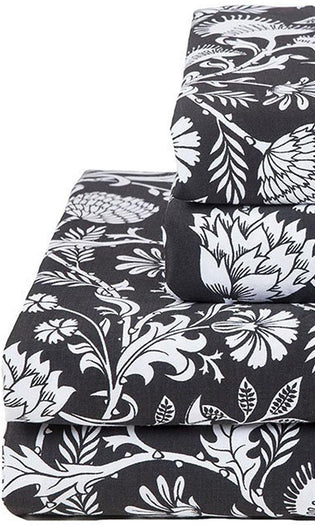 Elysian Fields [Black] | KING SHEET SET