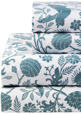 Elysian Fields [Blue] | QUEEN SHEET SET [PREORDER]