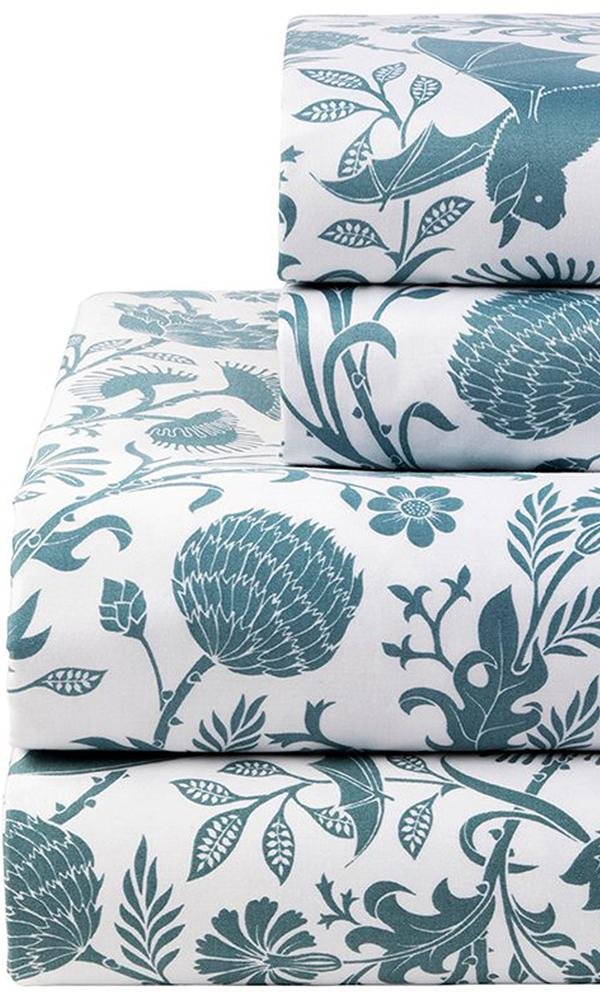 Elysian Fields [Blue] | KING SHEET SET