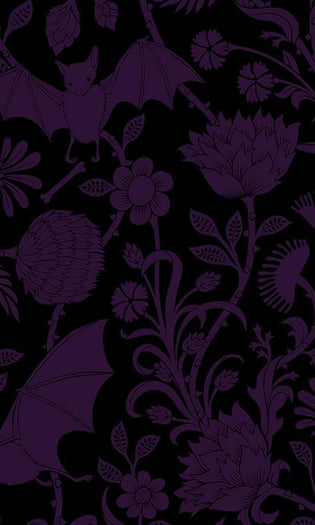 Elysian Fields [Purple] | TWIN DUVET COVER