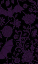 Elysian Fields [Purple] | STANDARD PILLOWCASE SET