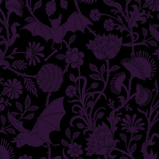 Elysian Fields [Purple] | QUEEN DUVET COVER