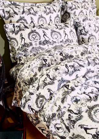 Fetish Al Fresco Toile | DOUBLE/QUEEN DUVET COVER