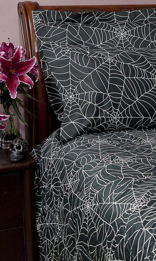 Spider Web | DOUBLE/QUEEN DUVET COVER