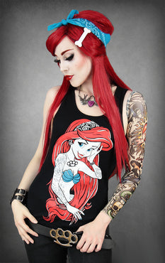 Rebel Mermaid Ariel | SINGLET TOP