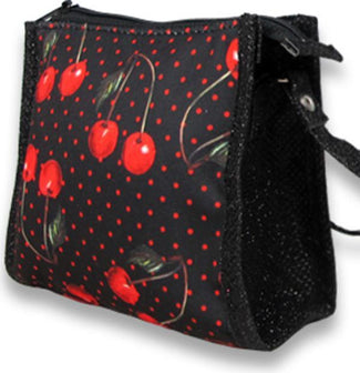 Cherries [Black] | PURSE