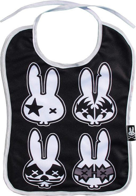 Rock Bunnies Bib