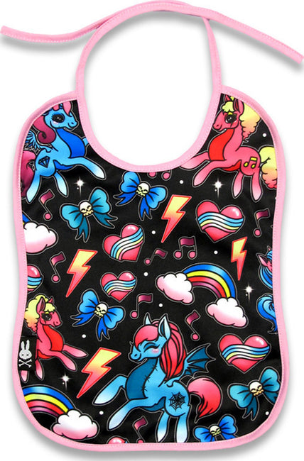 Unicorns Bib