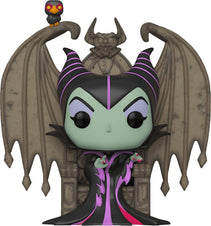 Sleeping Beauty | Maleficent on Throne Deluxe POP! VINYL