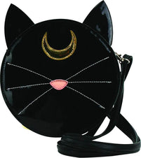 Mystical Black Cat Face | HANDBAG