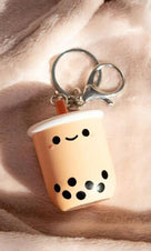 Pearl Boba Tea | Light-Up KEYCHAIN