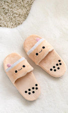 Pearl Boba Tea | PLUSH SLIDES