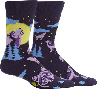 6 Wolf Moon | CREW SOCKS MENS