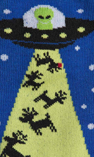 Alien Stole Christmas | CREW SOCKS MENS