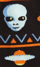 Alien Sweater Sighting | CREW SOCKS MENS