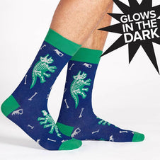 Arch-Eology | CREW SOCKS [GLOW IN THE DARK]
