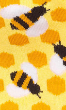 Bee's Knees | CREW SOCKS