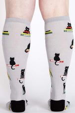 Booked for Meow | KNEE HIGH SOCKS