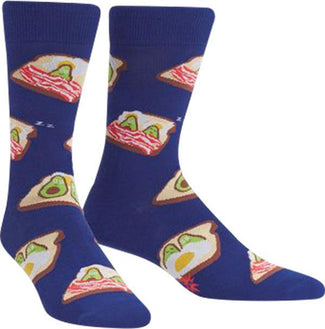 Breakfast In Bed | CREW SOCKS MENS