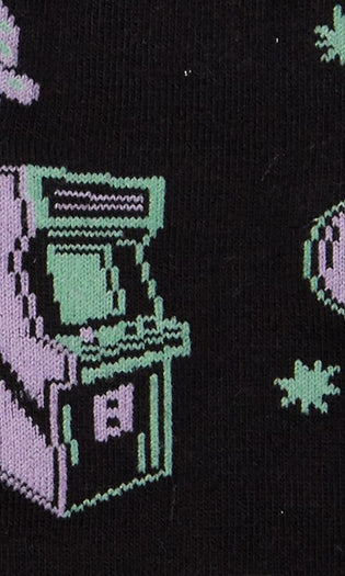 Cosmic Arcade | CREW SOCKS MENS