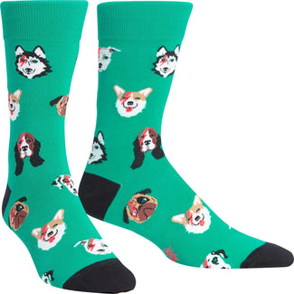 Dogs of Rock | CREW SOCKS MENS