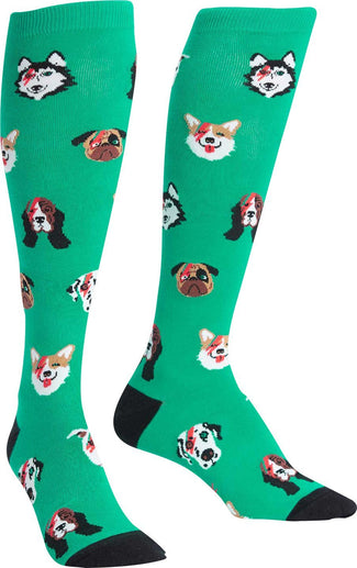 Dogs of Rock | KNEE HIGH SOCKS
