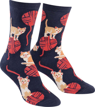 Kitten Knitting | CREW SOCKS