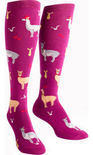 Llama Drama | KNEE HIGH SOCKS