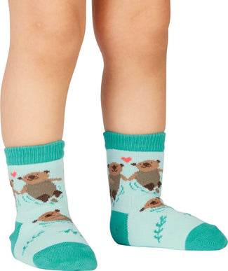 My Otter Half | CREW SOCKS [TODDLER]