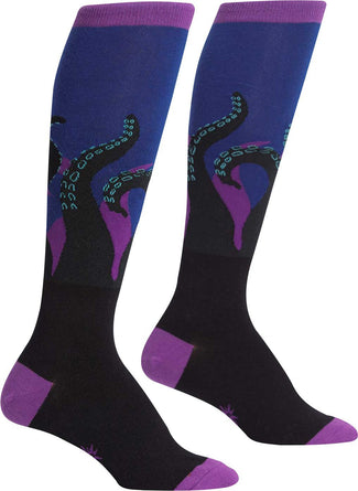 Octopi Your Feet | KNEE HIGH SOCKS