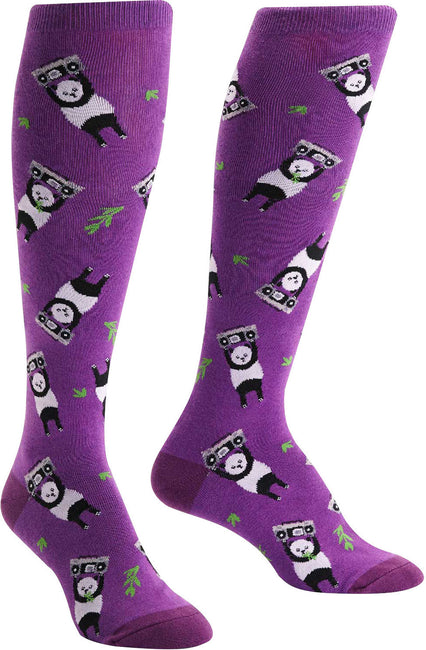 Panda Anything Knee High Socks