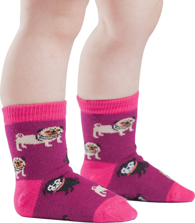 Pug Life | CREW SOCKS [TODDLER]