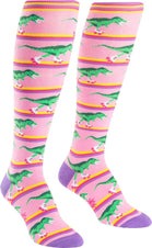Rawr-Ler Rink Knee High Socks