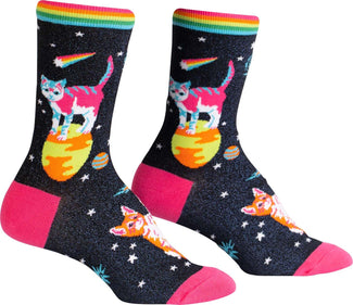 Space Cats | CREW SOCKS