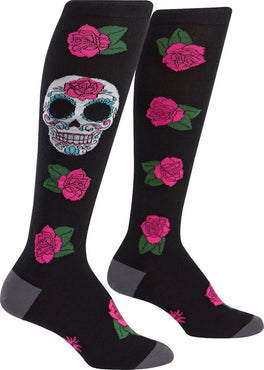 Sugar Skull | KNEE HIGH SOCKS