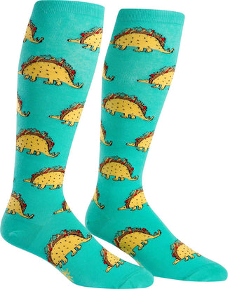 Tacosaurus Stretch | KNEE HIGH SOCKS