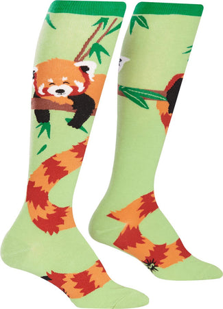 Tale of the Red Panda | KNEE HIGH SOCKS