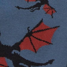 Twilight Flight | CREW SOCKS