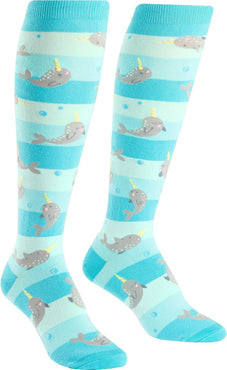 Unicorn Of The Sea | KNEE HIGH SOCKS