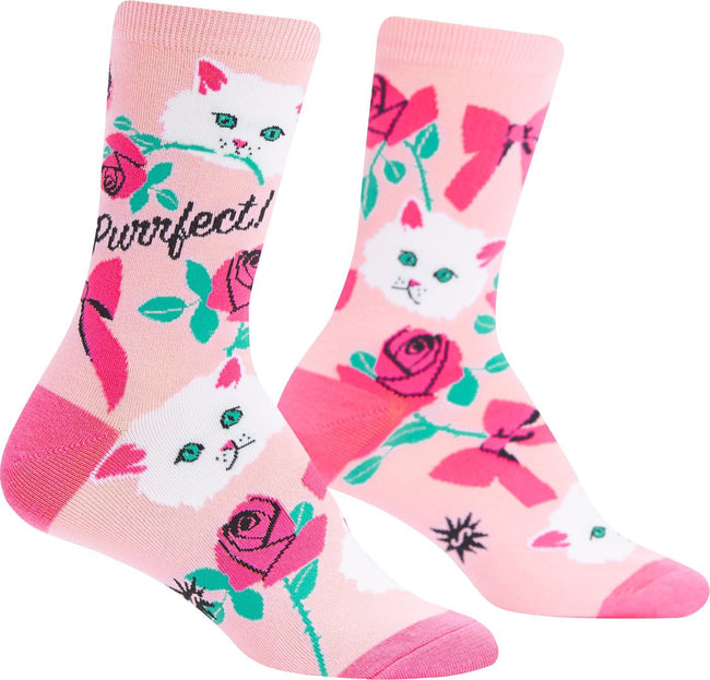 1755432632b21 Sock It To Me - You're Purrfect Crew Socks - Buy Online Australia ...