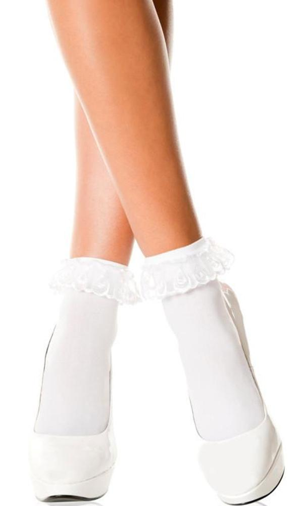 White Frill | ANKLE SOCKS