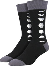 Just A Phase Black | SOCKS MENS