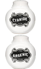 Arsenic And Cyanide | SALT AND PEPPER SHAKERS