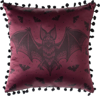 Batt Attack [Burgundy] | PILLOW