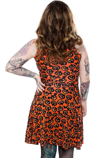 Batty Pumpkins | SKATER DRESS*