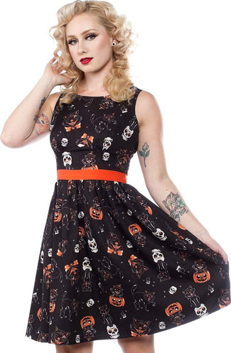 Black Cats | SHIFT DRESS