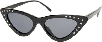 Cat Eye [Rhinestone Black] | SUNGLASSES
