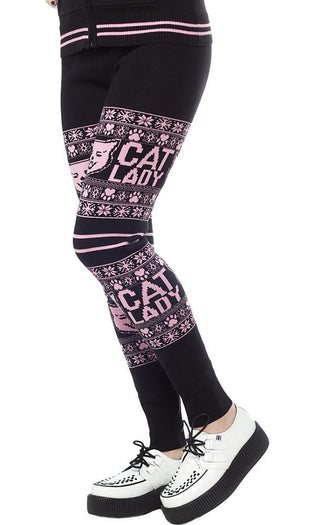 Cat Lady Knit | LEGGINGS